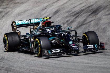 Mercedes domina sin problemas el viernes en Montmeló