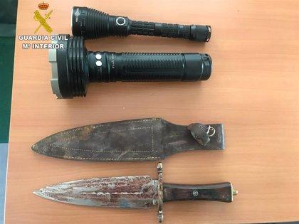 Guardia Civil investiga a dos personas por indicios de caza furtiva en un coto de La Mancha conquense
