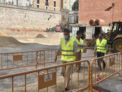 La primera fase de remodelación de las Llanas concluirá previsiblemente en febrero