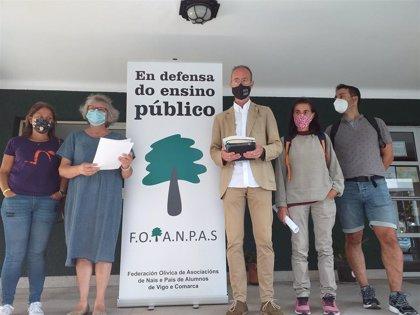 Anpas de Vigo 'plantan' la gestión de comedores por falta de protocolos concretos y recursos por parte de la Xunta