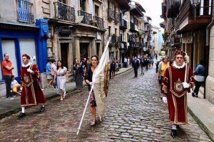 Hondarribia (Gipuzkoa) no realizará este sábado el acto público de traslado de la Bandera de la Ciudad
