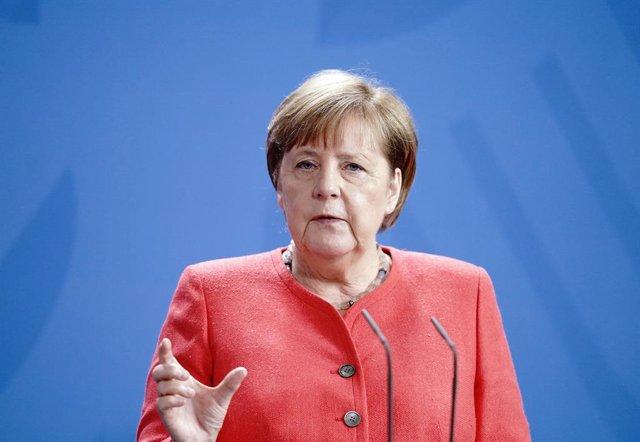 """Bielorrusia.- Merkel condena """"la violencia brutal"""" exhibida por la Policía contr"""