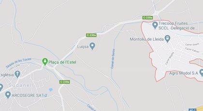 Dado de alta el trabajador herido en una deflagración en una empresa química de Sudanell (Lleida)