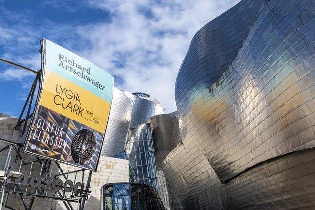 Imagen del museo Guggenheim Bilbao.