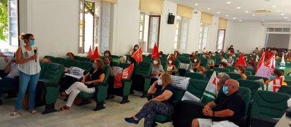 Adelante en la Diputación de Málaga plantea movilizaciones e iniciativas para evitar el cierre del centro Guadalmedina