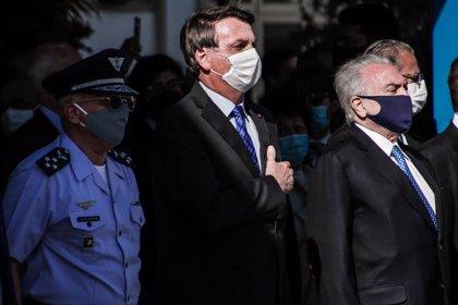 Brasil.- La popularidad de Bolsonaro alcanza niveles inéditos desde el inicio de su mandato