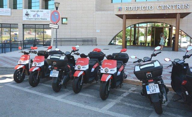 Nuevo sistema de alquiler de motocicletas 100% eléctricas