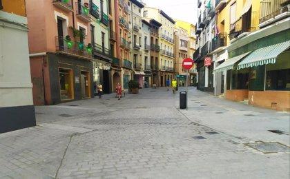 Finalizadas las obras de reurbanización del Coso Bajo de la ciudad de Huesca