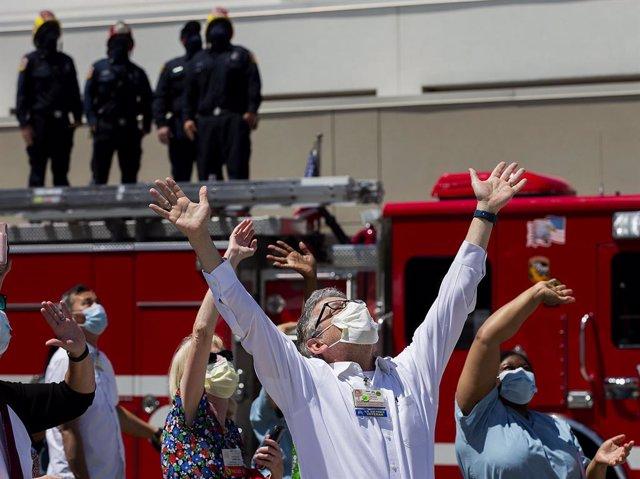 Coronavirus.- California se convierte en el primer estado de EEUU en rebasar los