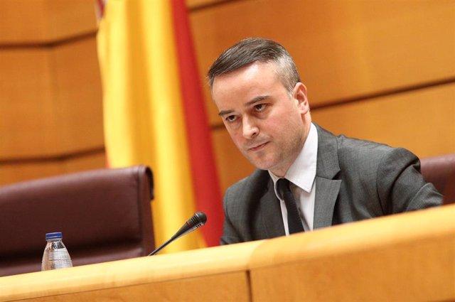 El director del Gabinete de la Presidencia del Gobierno, Iván Redondo, en el Senado