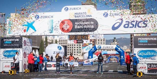 Marató de Barcelona en 2014