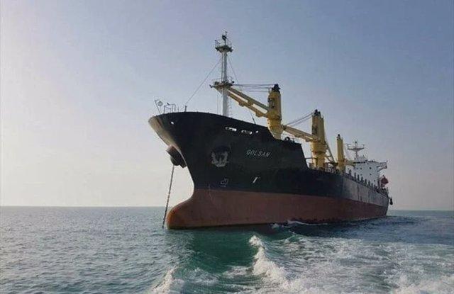 Imagen de archivo de un buque enviado por Irán a Venezuela con alimentos