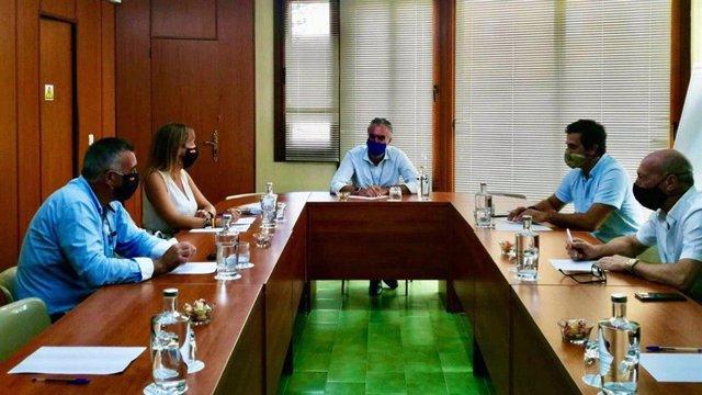 Reunión Vox con Aehcos