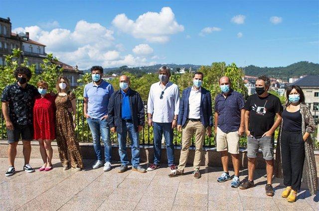 Presentación da rodaxe da longametraxe galega 'Cuñados'