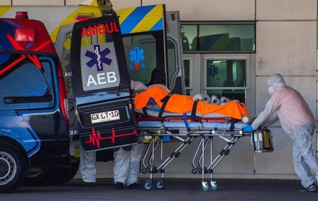 Hospital de la ciudad chilena de Valparaíso durante la pandemia de coronavirus