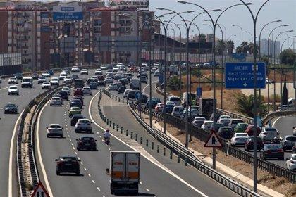Un accidente dificulta el tráfico en Toledo, con retenciones que llegan hasta la Comunidad de Madrid