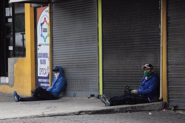 Imagen de Quito durante la pandemia de coronavirus