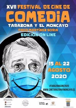El Festival de Comedia de Tarazona y El Moncayo celebra su decimoséptima edición de forma virtual.