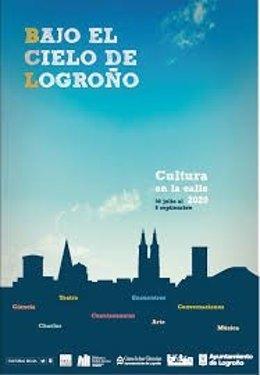 Desde el pasado 30 de julio y hasta el 6 de septiembre, las calles y plazas de Logroño albergan actividades Bajo el Cielo de Logroño