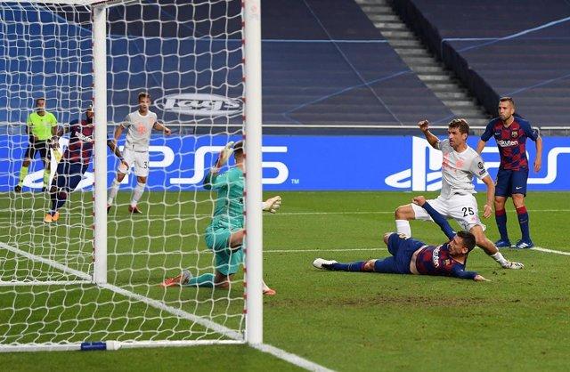 """Fútbol/Champions.- Müller: """"Nuestra superioridad fue mayor que en el 7-1 ante Br"""