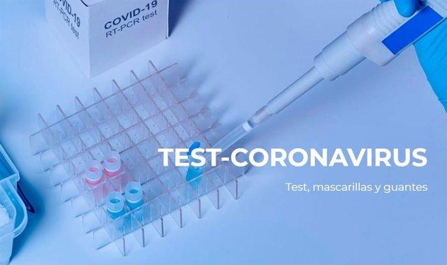 Portada de la web puesta en marcha para adquirir el test del coronavirus