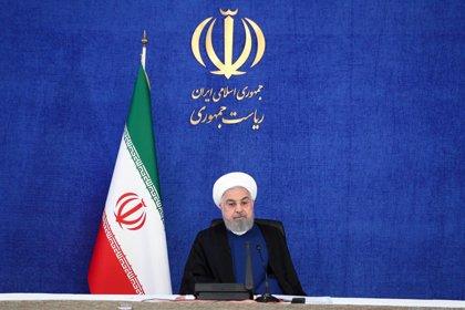 """Irán.- Rohani celebra la """"humillante derrota"""" del plan de EEUU para prorrogar el embargo de armas a Irán"""