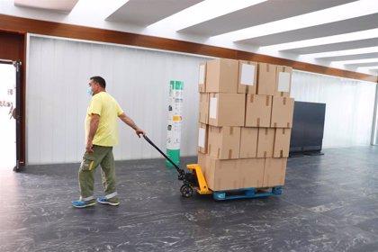 Los centros sanitarios de C-LM reciben otro medio millón de artículos de protección frente al COVID-19