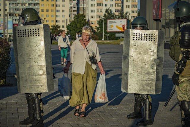 Bielorrusia.- Lukashenko denuncia injerencias extranjeras en la ola de protestas