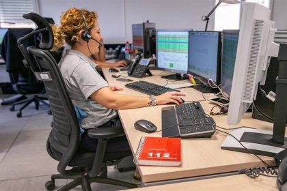 Las llamadas recibidas desde la central de Teleasistencia domiciliaria al 112 aumentan un 25%