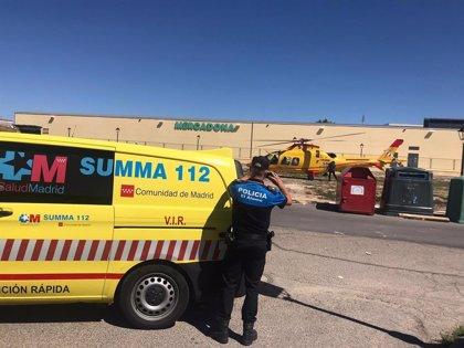El Summa 112 salva la vida de un hombre de 59 años tras sufrir una parada en El Álamo