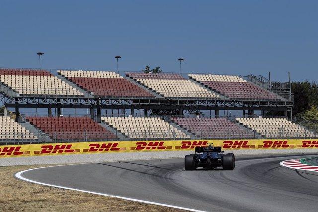 Fórmula 1/GP España.- Hamilton logra la cuarta pole del año y Sainz comenzará sé