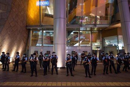 China.- Reino Unido confirma la suspensión de sus entrenamientos militares a la Policía de Hong Kong