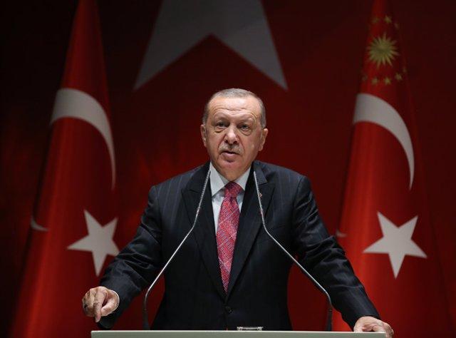 """Turquía.- Erdogan avisa de que no cederá ante las pretensiones de """"bandidos"""" en"""
