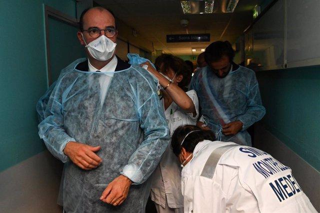 Coronavirus.- Francia confirma unos 3.300 nuevos casos diarios, cuarto día conse
