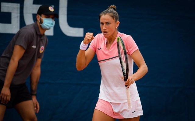 Tenis.- La española Sara Sorribes se despide de Praga en cuartos de final