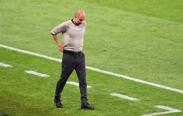 """Fútbol/Champions.- Guardiola: """"Hemos cometido errores y en Champions no puedes f"""
