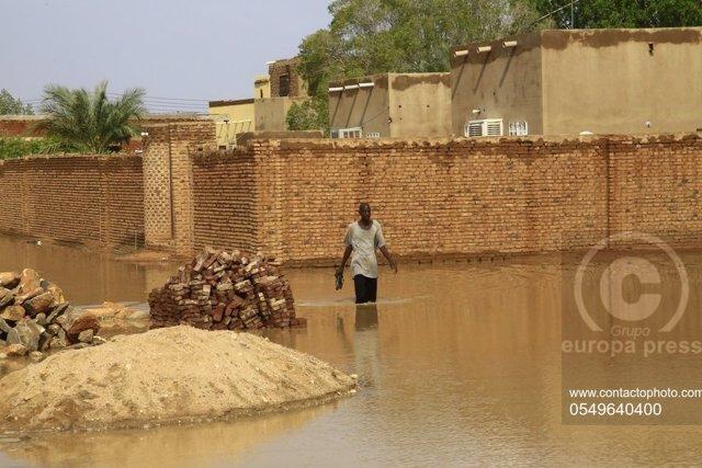 Sudán.- Las inundaciones provocadas por las fuertes lluvias dejan 65 muertos en