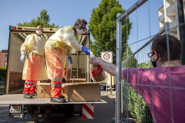Coronavirus.- Disminuyen los contagios diarios en Alemania, que constata 625 cas