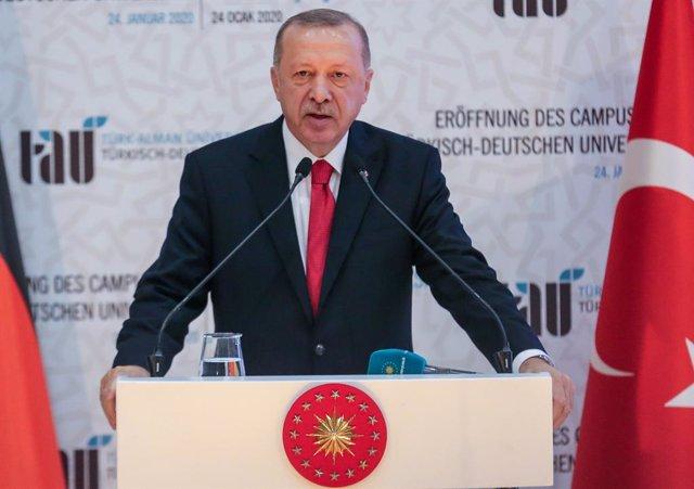 Turquía.- Turquía organiza un simulacro naval y anuncia nuevas exploraciones en