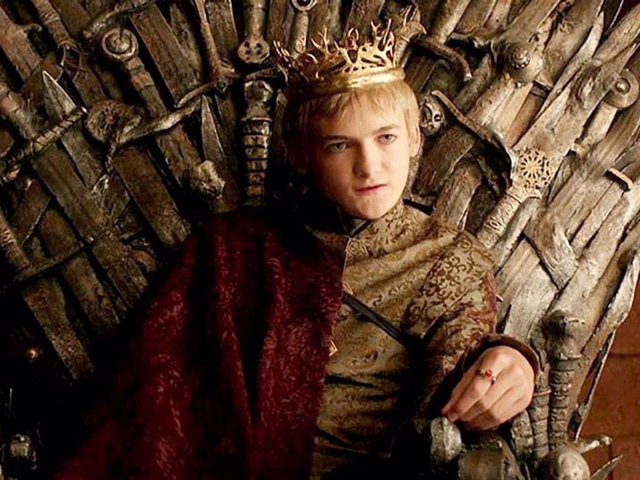 Joffrey en Juego de tronos (Game of Thrones)