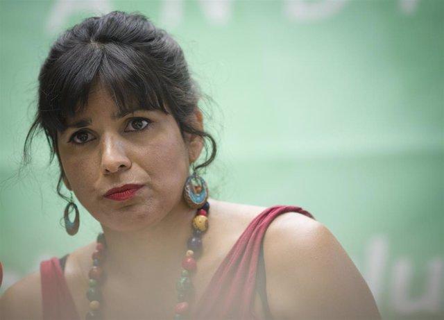 """Teresa Rodríguez cree que es momento de debatir sobre la Monarquía y abrir así """""""