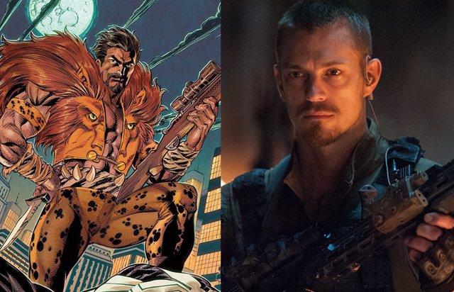 Kraven El Cazador en los cómics y Joel Kinnaman en Escuadrón Suicida