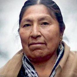 Esther Morales, hermana del expresidente Evo Morales