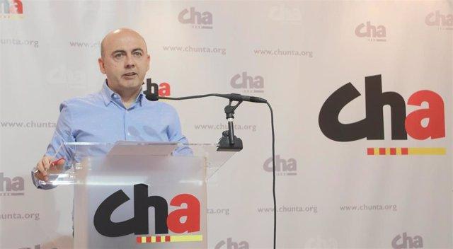 El secretario de Política Local de CHA, Miguel Jaime.