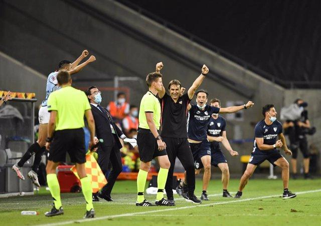 """Fútbol/Liga Europa.- Lopetegui: """"El equipo se ha sustentado en creer y querer"""""""