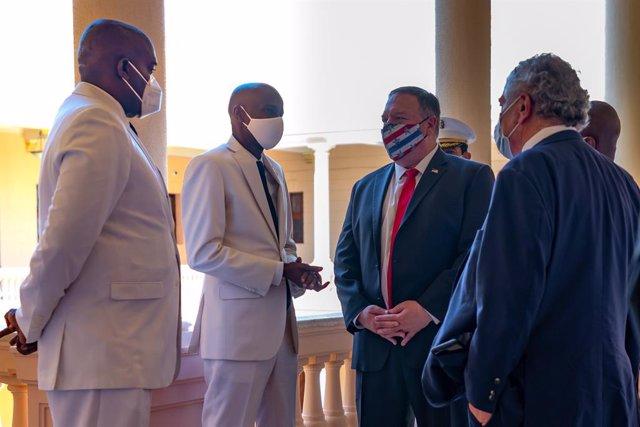 Haití.- Pompeo insta al presidente haitiano a convocar elecciones y garantizar l