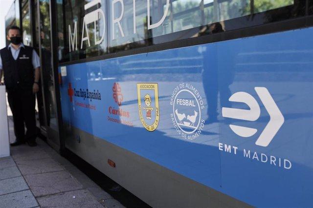 Autobús de la Empresa Municipal de Transportes (EMT) de Madrid.