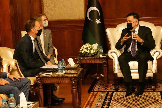 Libia.- El ministro de Exteriores alemán visita Libia para intentar desbloquear