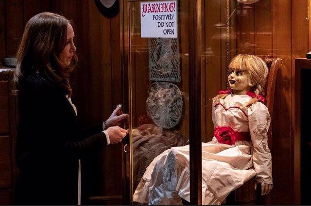 La muñeca Annabelle en la franquicia Expediente Warren