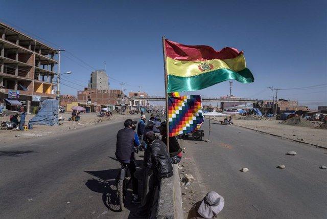 """Bolivia.- El MAS de Morales propone una ley para """"proteger"""" a los """"dirigentes"""" q"""